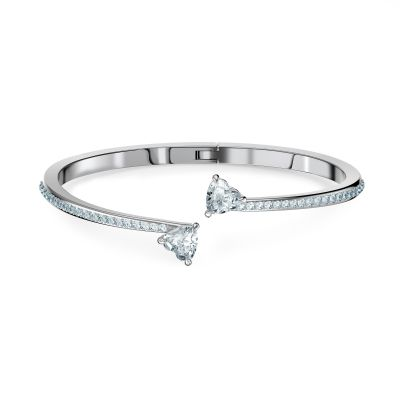 ATTRACT SOUL:BANGLE HEART CZWH/CRY/RHS S