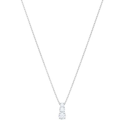 ATTRACT TRILOGY:PENDANT RND CZWH/RHS