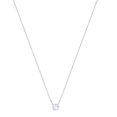 ATTRACT:NECKLACE RND CZWH/RHS