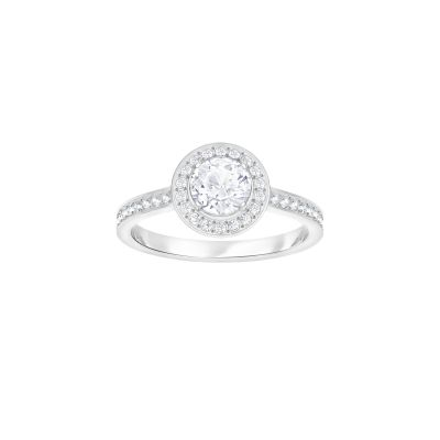 ATTRACT:RING RND LIGHT CZWH/CRY/RHS 52