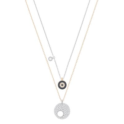 CRY WISHES:PENDANT EVIL EYE MONT/CRY/MIX