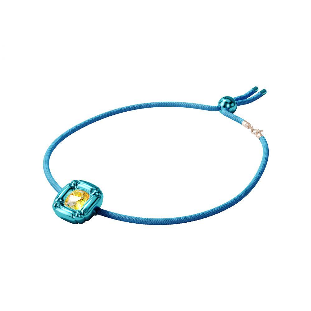 DULCIS:NECKLACE BLUE LTOP/OTH