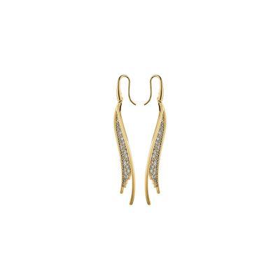 GILDED TR:PE EARRINGS CZWH/GOS