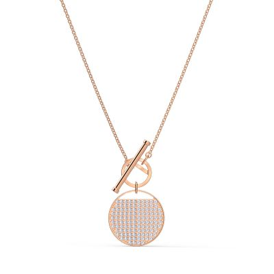 GINGER:NECKLACE T BAR CRY/ROS