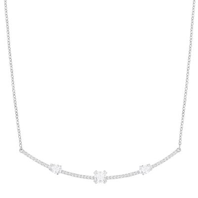 GRAY:NECKLACE CZWH/RHS