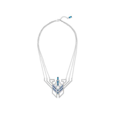 KARL:NECKLACE STATEMENT CRY/MONT/PDS