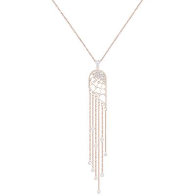 PRECISELY:NECKLACE LNG CZWH/CRY/ROS