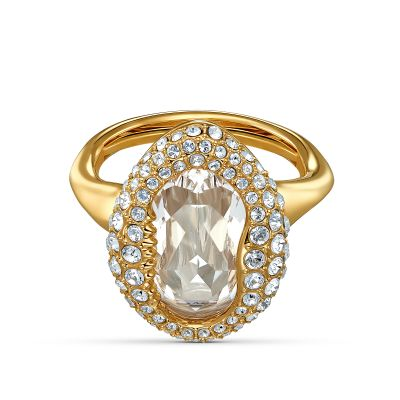 SHELL:RING OVAL CRY/GOS 55-60