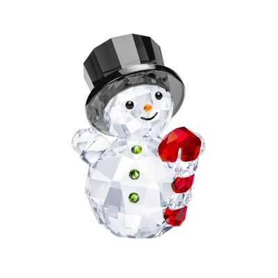SNOWMAN WITH CANDY CANE
