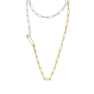 SO COOL:NECKLACE LNG CRY/MIX