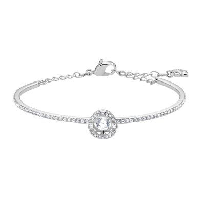 SPARKLING DC:BANGLE ROUND CZWH/CRY/RHS M