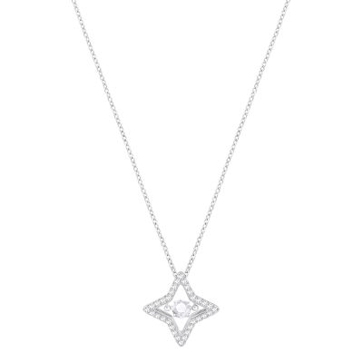 SPARKLING DC:PENDANT SML STAR CZWH/CRY