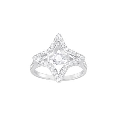 SPARKLING DC:RING STAR CZWH/CRY/RHS 52