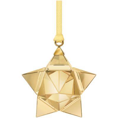 STAR ORNAMENT, GOLD TONE, SMALL
