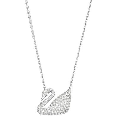 SWAN:NECKLACE CRY/RHS
