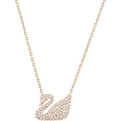 SWAN:NECKLACE CRY/ROS