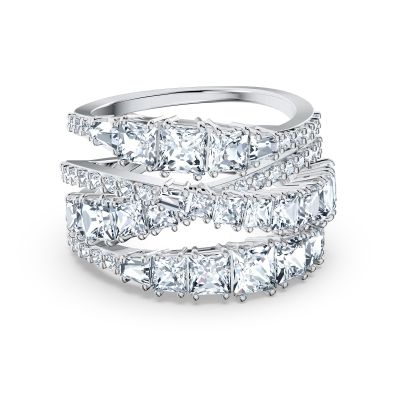 TWIST:RING WRAP CZWH/RHS FULL PAVE 52