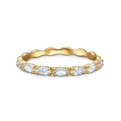 VITTORE:RING MARQUISE CZWH/GOS 50