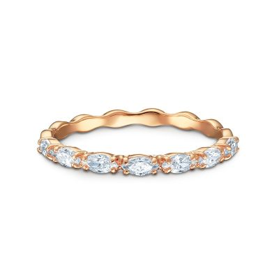 VITTORE:RING MARQUISE CZWH/ROS 55