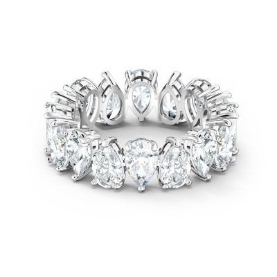 VITTORE:RING PEAR CZWH/RHS 60